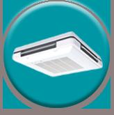 天井埋め込みカセット形エアコン