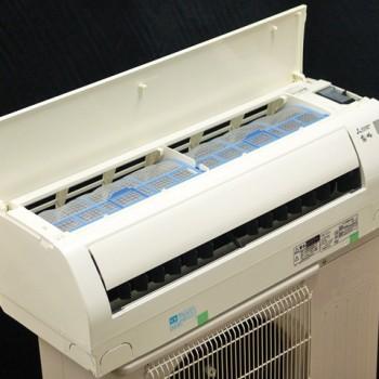 東京都西東京市で2015年製の三菱電機のルームエアコン【中古品】を買取しました。