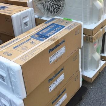 東京都文京区でパナソニックのルームエアコン【新品】を買取しました。