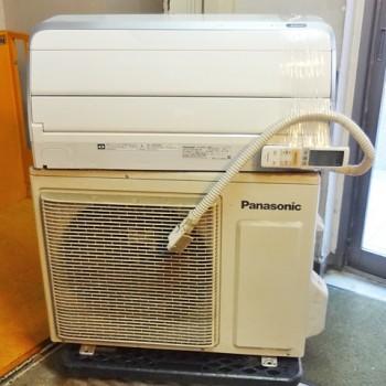 東京都新宿区で2015年製のパナソニックのルームエアコン【中古品】を買取しました。