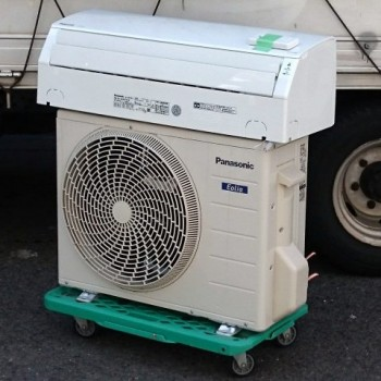 東京都練馬区で2018年製のPanasonic(パナソニック)のルームエアコン【中古品】ほか計2台を買取しました。