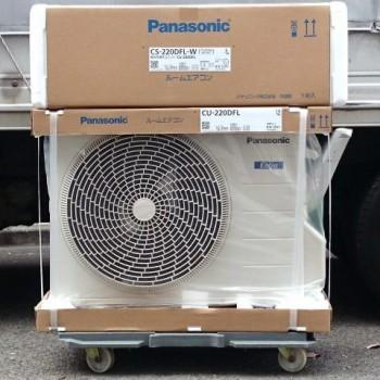 東京都杉並区で2020年モデルのPanasonic(パナソニック)のルームエアコン【新品】を買取しました。