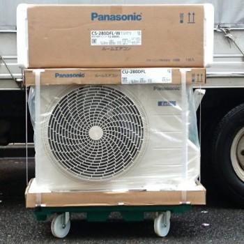 店頭買取で2020年モデルのPanasonic(パナソニック)のルームエアコン【新品】を買取しました。