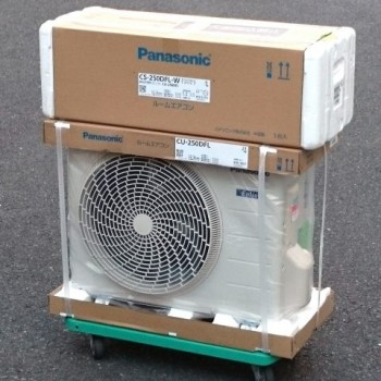 東京都練馬区で2020年モデルのPanasonic(パナソニック)のルームエアコン【新品】を買取しました。