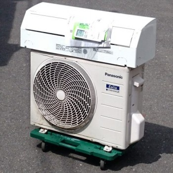 東京都西東京市で2018年製のPanasonic(パナソニック)のルームエアコン【中古品】を買取しました。