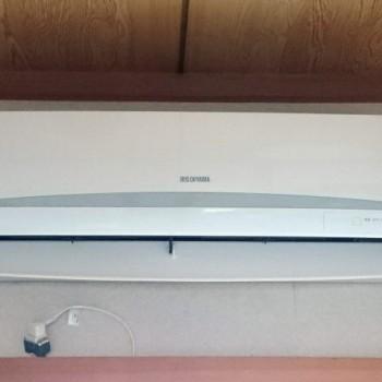 東京都武蔵野市で2019年製のアイリスオーヤマのルームエアコン【中古品】を買取しました。